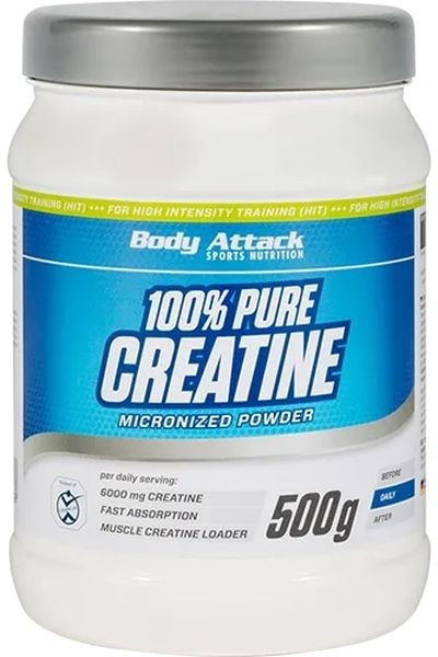 Body Attack 100% Pure Creatine - 500g