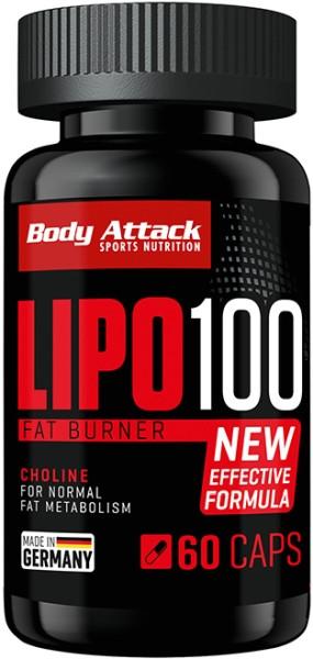 Body Attack Lipo 100 - 60 Kapseln