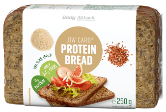 Body Attack Low Carb Protein Brot - 250g