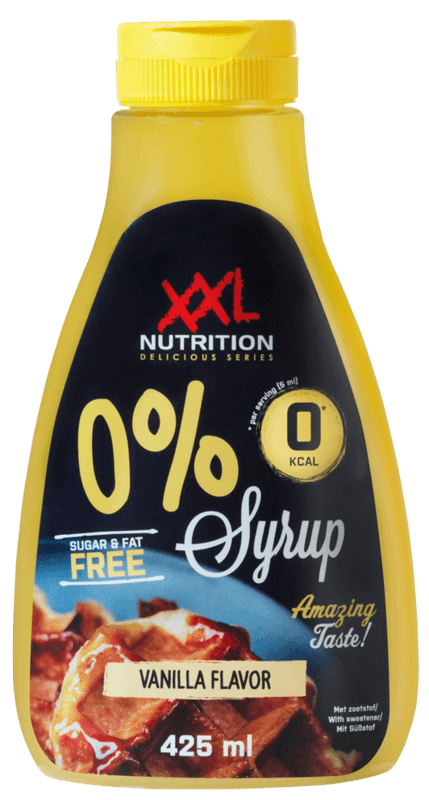 XXL Nutrition 0% Sirup - Vanille