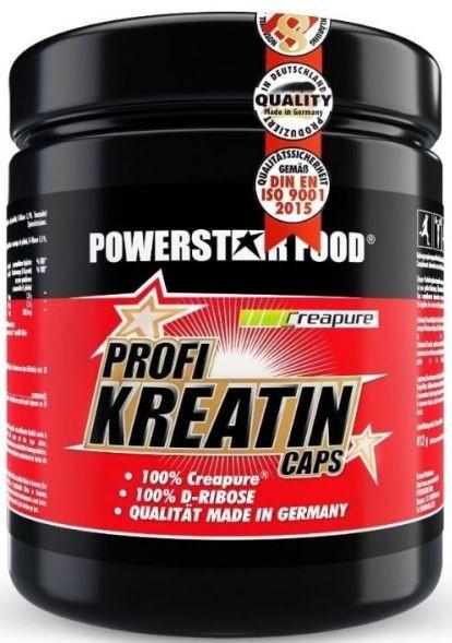 Powerstar Profi Kreatin Caps + Ribose - 500 Kapseln