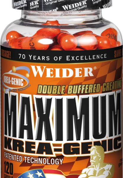 Weider Maximum Krea-Genic - 120 Kapseln