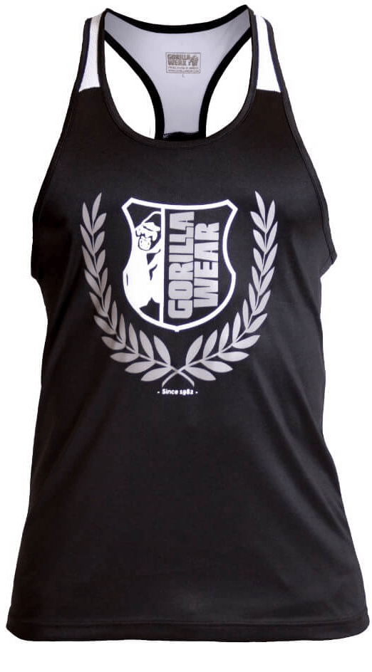 Gorilla Wear Lexington Tank Top - schwarz weiß