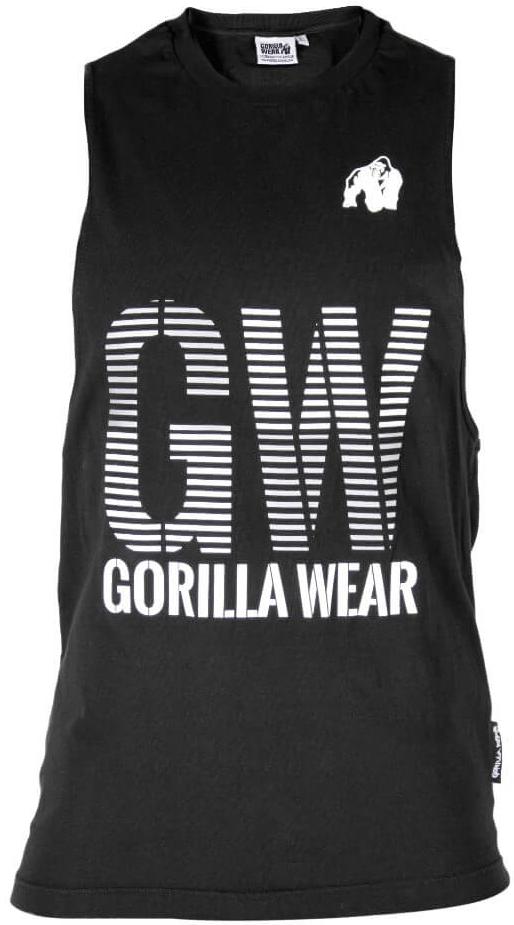 Gorilla Wear Dakota Sleeveless T-Shirt - schwarz