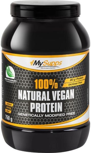 My Supps 100% Natural Vegan Protein - 750g