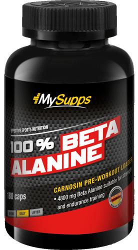 My Supps 100% Beta Alanine - 180 Kapseln