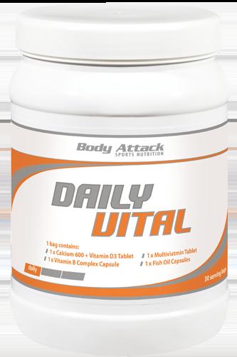 Body Attack Daily Vital - 30 Packs