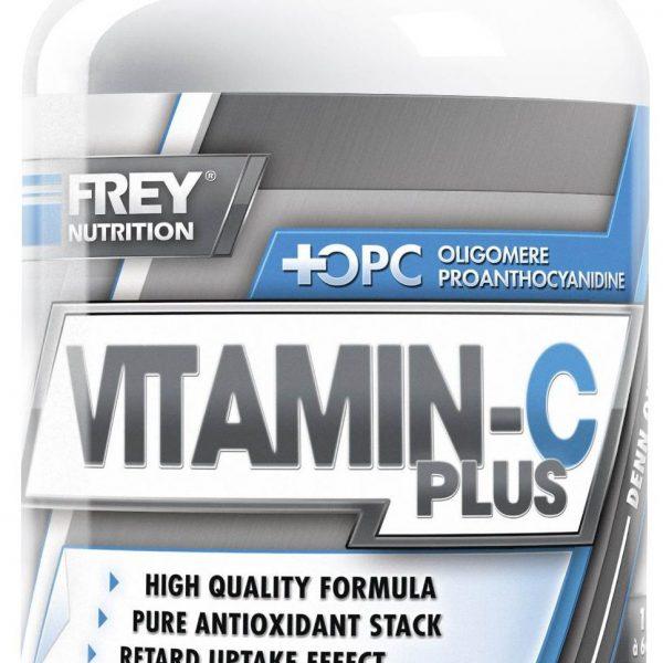 FREY NUTRITION Vitamin-C Plus - 120 Kapseln