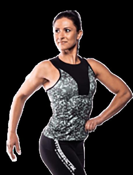 Fitnessvictim Women Camou Tank