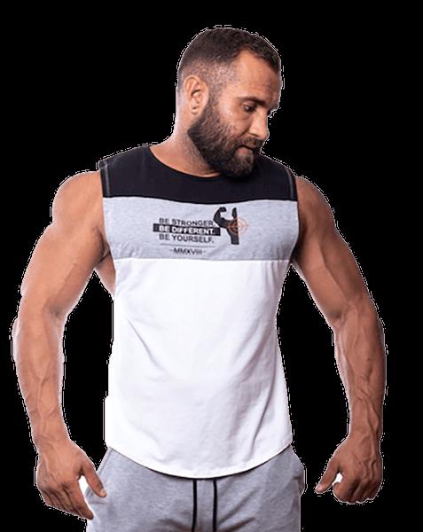 Fitnessvictim Men Casual Logo Tank