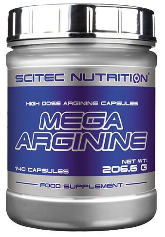 Scitec Mega Arginine Caps - 140 Kapseln