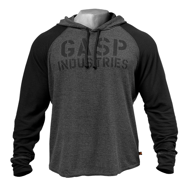 GASP - Long Sleeve Thermal Hoodie