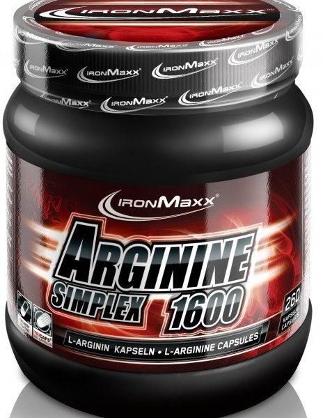 IronMaxx Arginin Simplex 1600 - 300 Kapseln