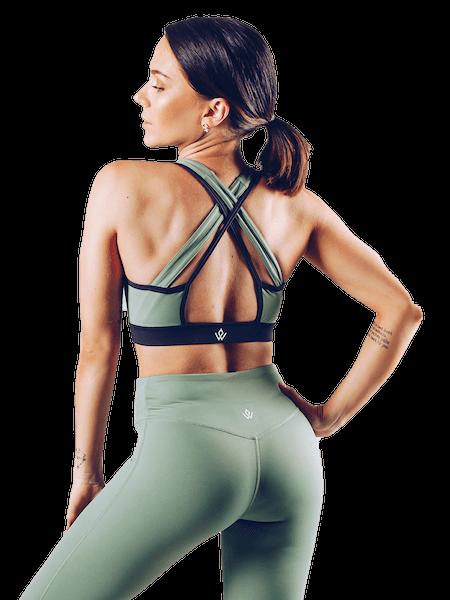 Workout Empire Insignia Bra - Khaki