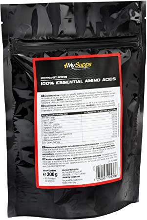 My Supps 100% Amino EAA - 300g
