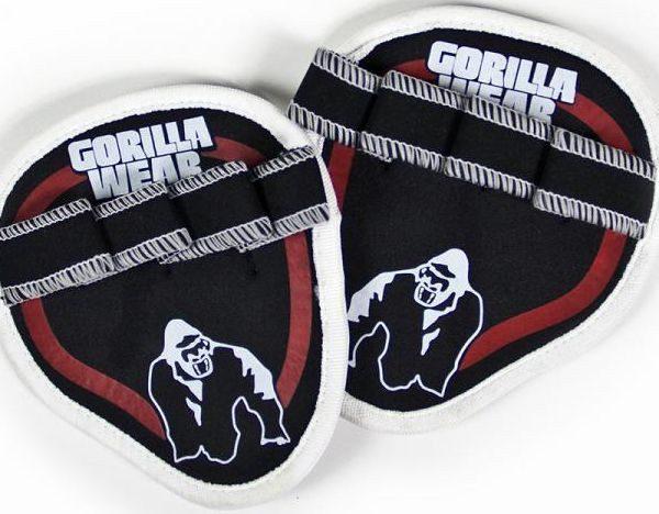 Gorilla Wear Palm Grip Pads - red
