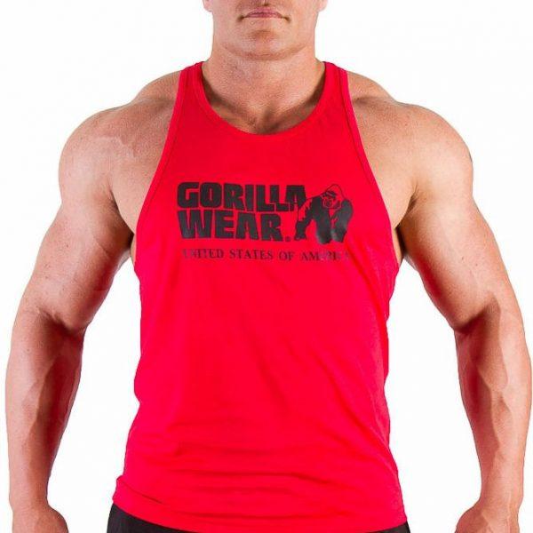 Gorilla Wear Classic Tank Top - tango red
