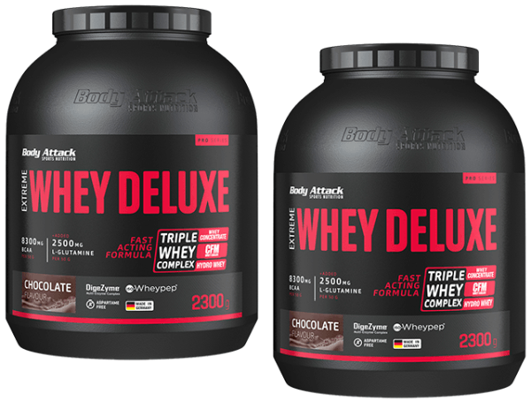 Body Attack Extreme Whey Deluxe - Doublepack