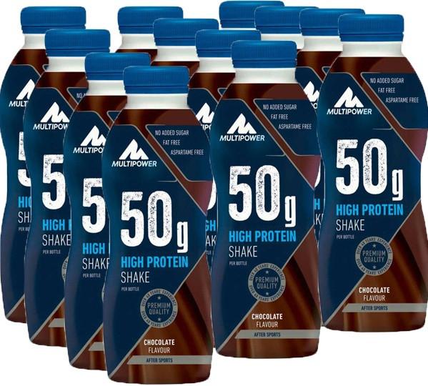 Multipower 50g Protein Shake - 12x500ml