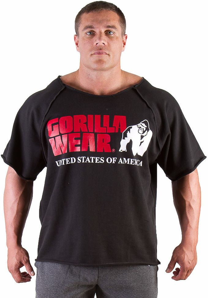Gorilla Wear Classic Work Out Top - black