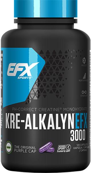 EFX Kre-Alkalyn 3000 - 120 Kapseln á 750mg