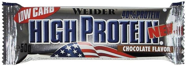 Weider 40% Protein Low Carb Bar - 50 g