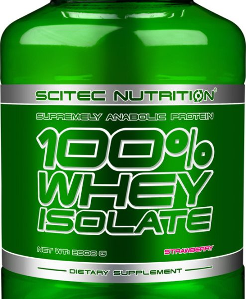 Scitec Nutrition 100% Whey Isolate 2000g. Dose