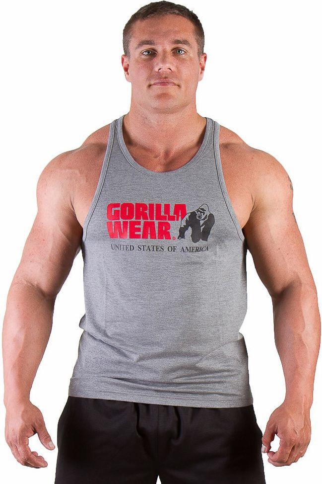 Gorilla Wear Classic Tank Top - greymelange