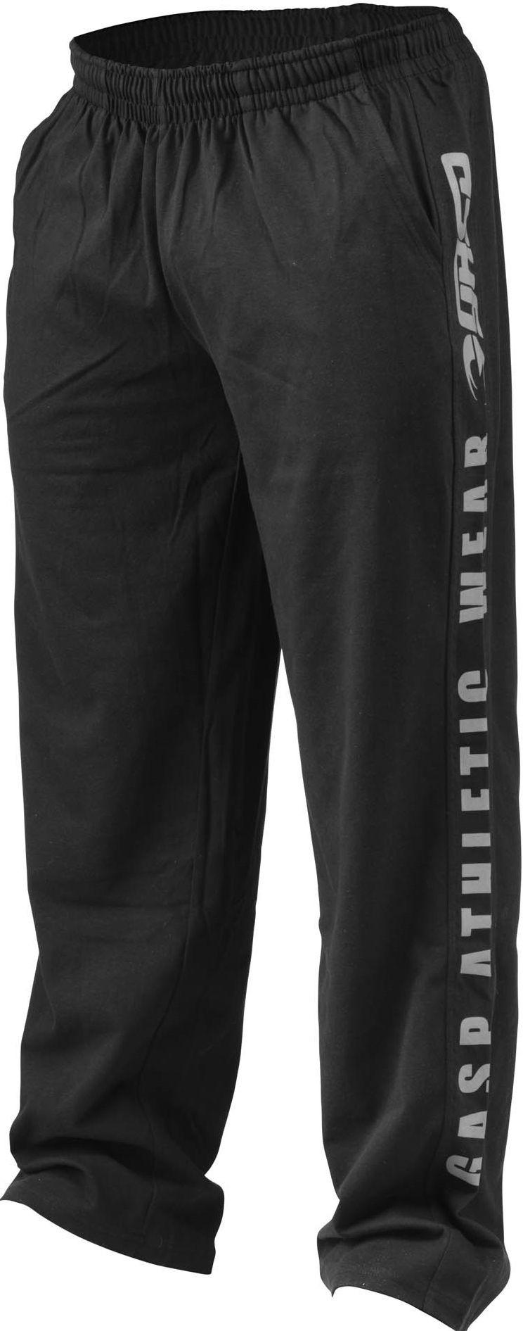 GASP - Jersey Training Pant - black