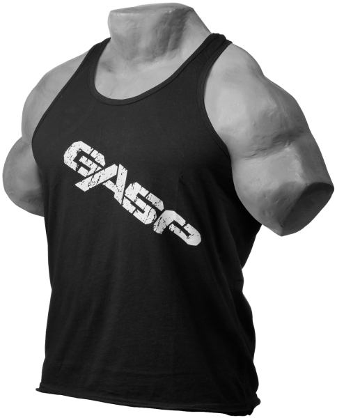 GASP - Vintage T-back - black