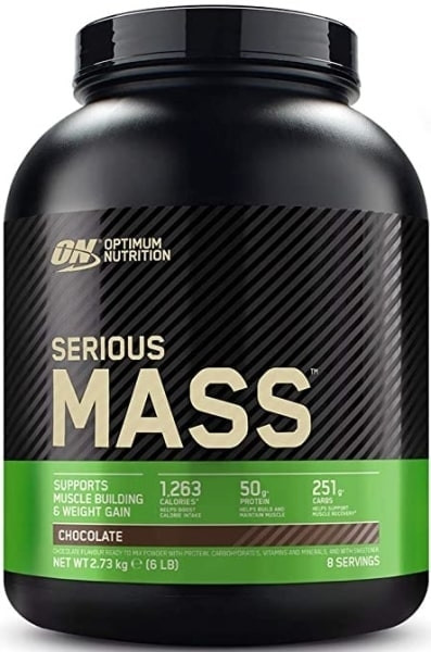 Optimum Nutrition Serious Mass - 2730g