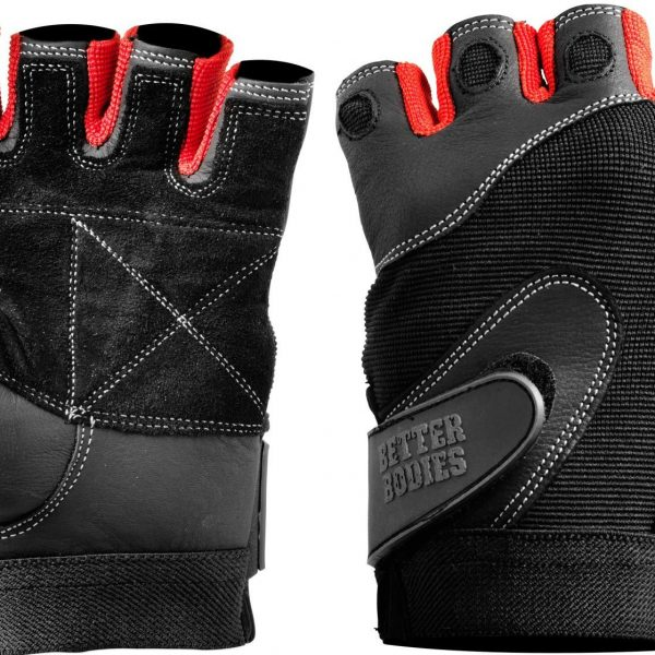 Better Bodies Pro Lifting Gloves Rot