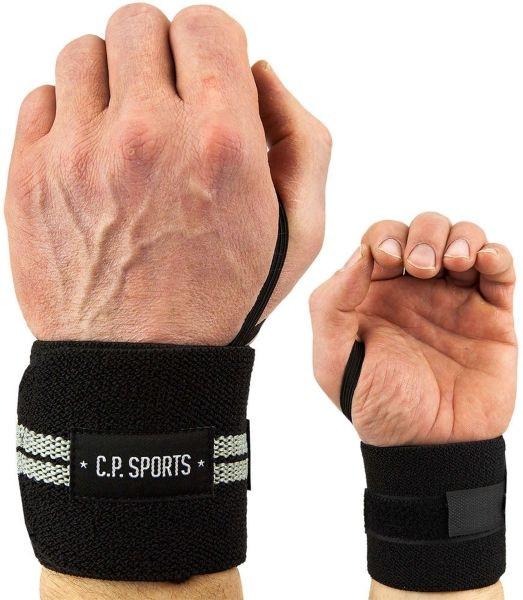C.P. Sports Handgelenkbandagen schwarz 50cm