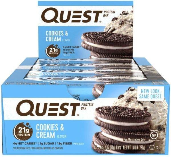 Quest Nutrition Quest Bar - 12x 60g Riegel