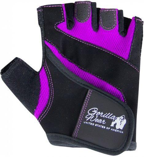 Gorilla Wear Womens Fitness Gloves schwarz-lila