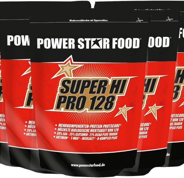 Powerstar SUPER HI PRO 128 - 5 x 1000g