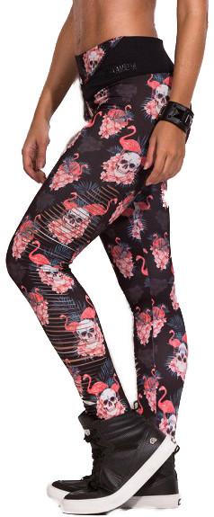 LaBellaMafia Ripped Flamingo Leggings