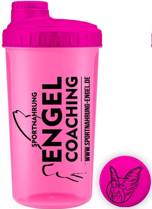 Sortnahrung Engel Coaching Shaker - Transparent Pink