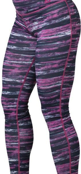Better Bodies Printed Tights - black pink