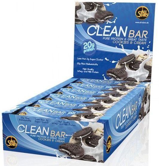 All Stars Clean Bar - 18 x 60g Riegel