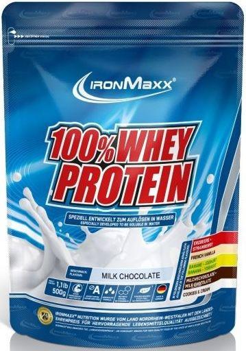 Ironmaxx 100% Whey Protein 500g Beutel