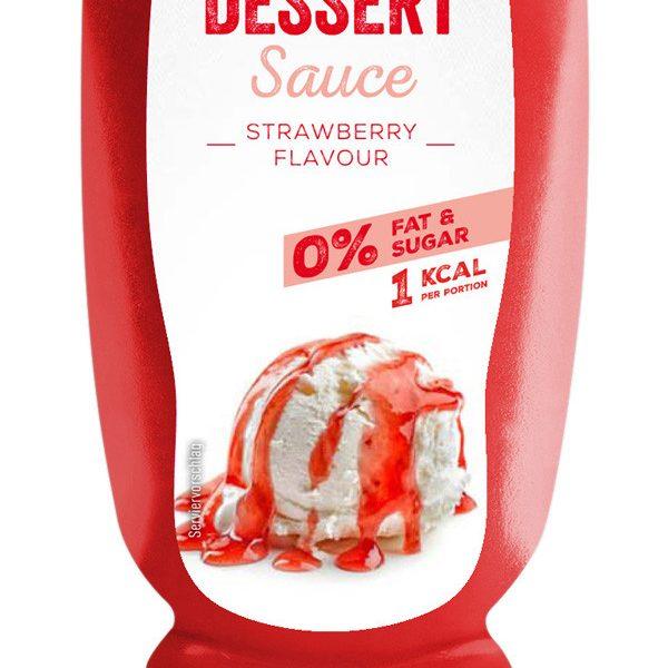 Body Attack Erdbeere Dessert Sauce - 320ml