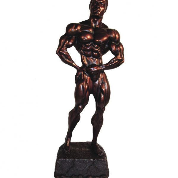 Bodybuilding Figur Man - Mid 35 cm