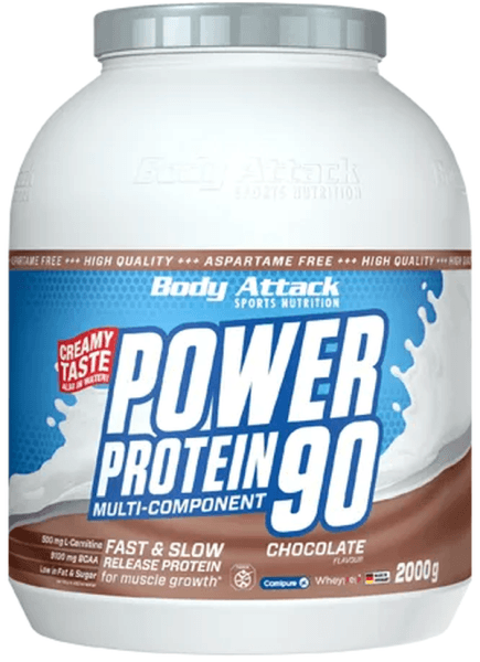 Body Attack Power Protein 90 - 2000 g