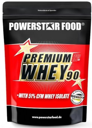 Powerstar Premium Whey 90 - 850g Beutel