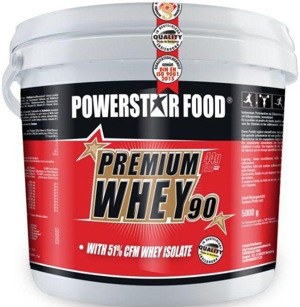 Powerstar Premium Whey Gold / 90 - 5kg Eimer