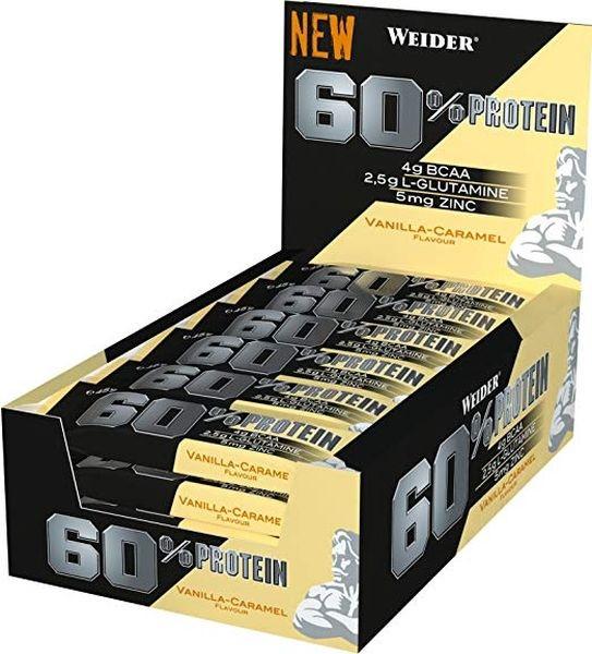 Weider 60% Protein Bar - 24x45g Riegel