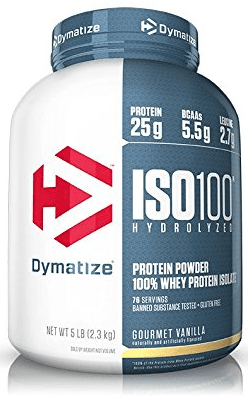 Dymatize ISO 100 Wheyprotein Isolat - 2200g