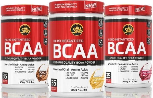 All Stars BCAA Powder - 500g