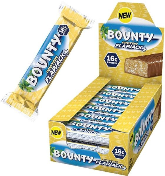 Bounty Protein Flapjack - 18x 60 g Riegel